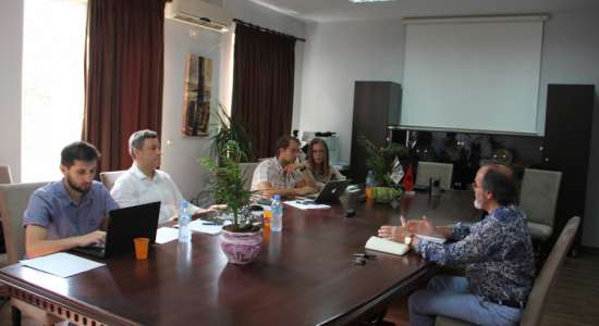 Visit in the framework of periodic institutional accreditation of the University of Sports of Tirana
