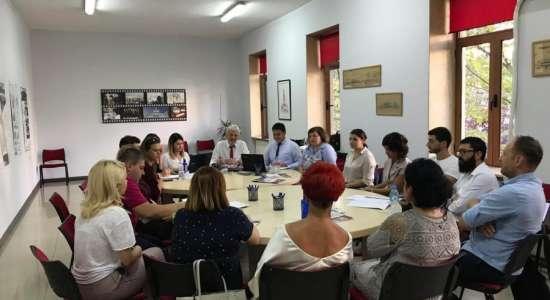 """Vizita në kuadër të akreditimit institucional të Universitetit Privat """"Albanian University"""""""