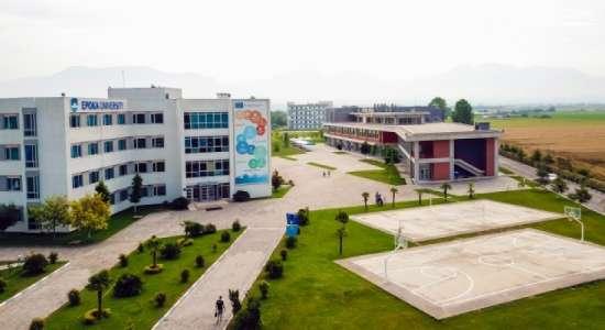 Visit in the framework of periodic institutional accreditation of the EPOKA University