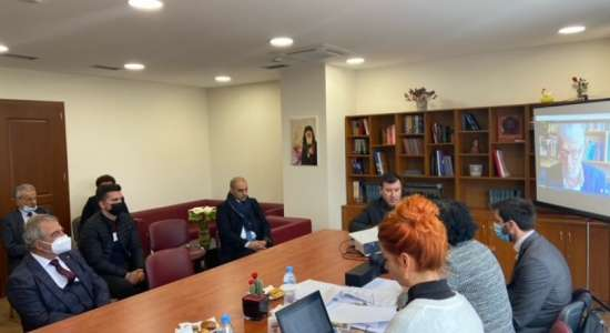 """Vizita në kuadër të akreditimit periodik institucional të Kolegjit Universitar """"LOGOS"""""""