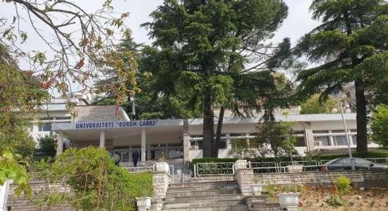 """Vizita në kuadër të akreditimit periodik institucional të Universitetit """"Eqrem Çabej"""", Gjirokastër"""