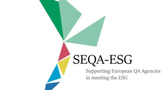 International meeting on the implementation of the ESGs
